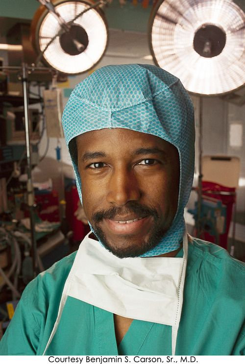 Image result for when Ben carson performs record breaking surgery