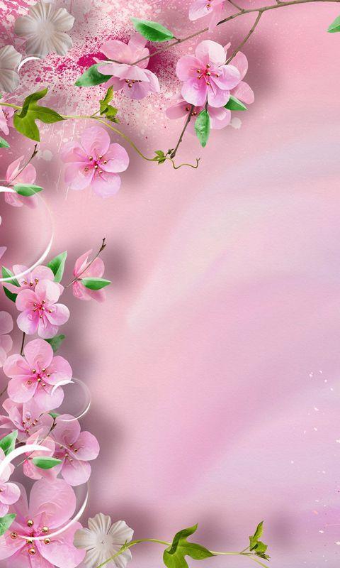 Floral Tumblr Hd Flower Wallpaper Spring Flowers Wallpaper Flower wallpaper for mobile phone