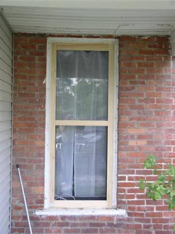 Diy Storm Windows Part 1 Garden Decor Inspiration Pinterest Window Parts Window And Woods