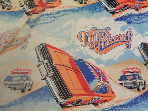 Dukes Of Hazzard Twin Bedding
