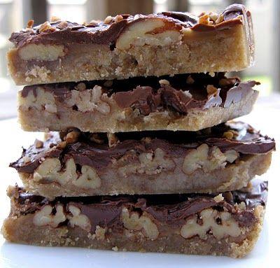 Turtle Cookie Bars :)