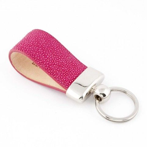 Bethge | We love the exotic keyholder. It's handmade in Italy of exclusive galuchat. Perfect accessory for everybody who loves an individual style.