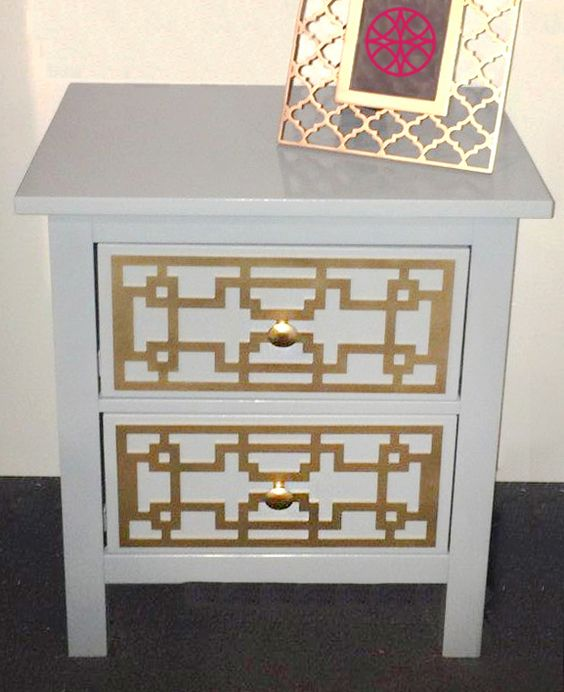 Caci O 39 Verlays Kit For Hemnes 2 Drawer Nightstand My O 39 Verlays Customers Projects Pinterest
