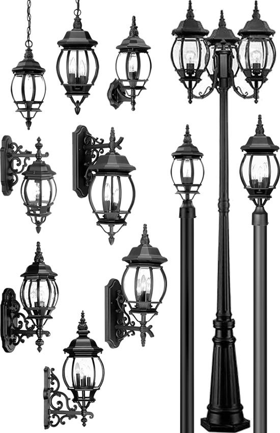 Acclaim Lighting Chateau Outdoor Collection Deep Discount