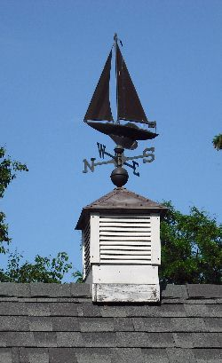 I want a cupola and weather vane like this on my garage.