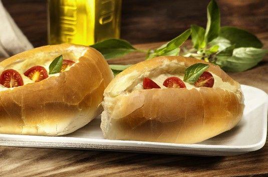 Receita de Barquetes de Pão