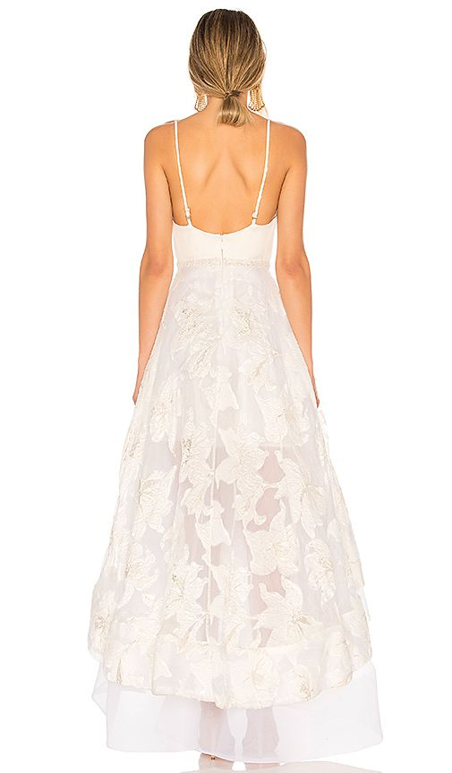 Alexia Gown In White Gold Engagement Party Dresses Stylish