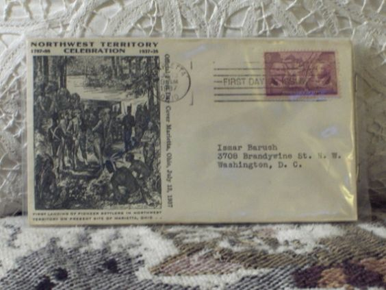First Day Issue / Cover - Stamp - Northwest Territory 1937 3c