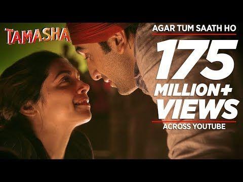 Agar Tum Saath Ho Full Audio Song Tamasha Ranbir Kapoor Deepika Padukone T Series Youtube In 2020 Bollywood Music Videos Songs Audio Songs