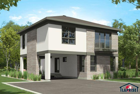 15 best Plan Maison Moderne Etage images on Pinterest House