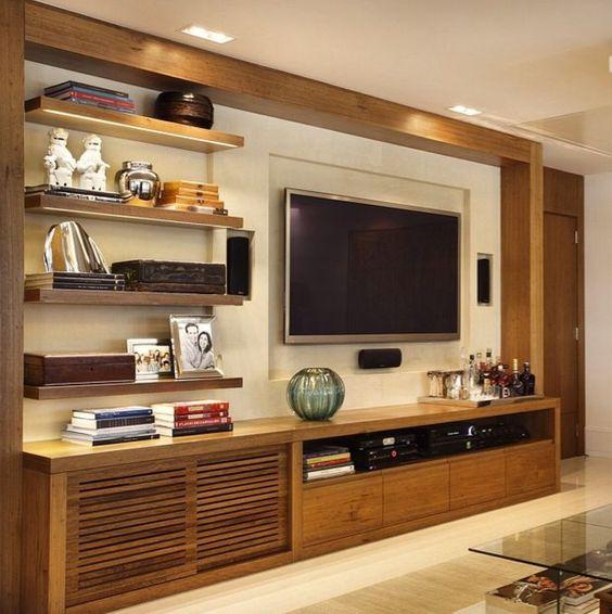 Furniture Wonderful Wall Cabinet Design Ideas For TV, Elegant - sch amp ouml ner wohnen farben schlafzimmer