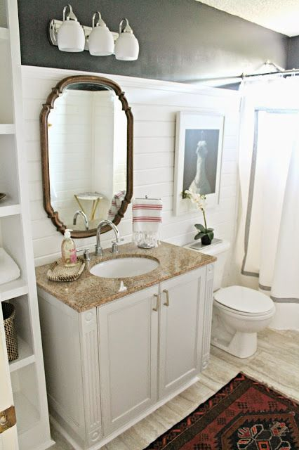Way Back Whensday // $600 Bathroom Makeover
