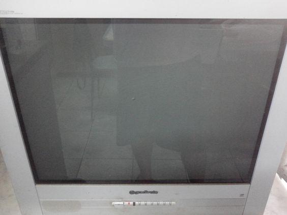 Tela de TV de tubo - Vidro Plumbado ou ao chumbo.