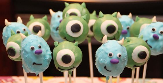 cake pop decorating | mike and sully cake pops - Cake Decorating Community - Cakes We Bake