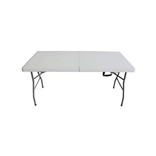 Dqmsb Folding Table Portable Long Table Meeting Training Activity Table Stall Long Table Home Dining Table And Chairs In 2019 Train Activities Table Chairs Table