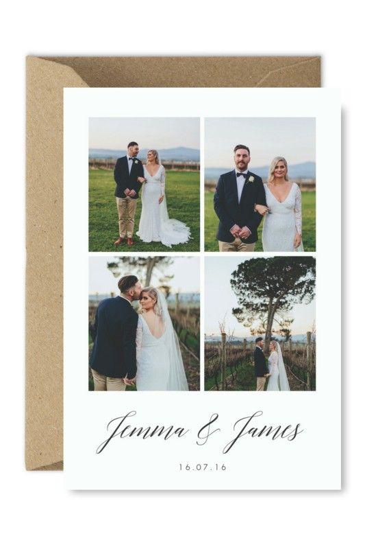 Wedding Thank You Card Printable Photo Cards Postcard Digital Download Wedding Thank You Cards Photo Wedding Card Wedding Thank You Postcards