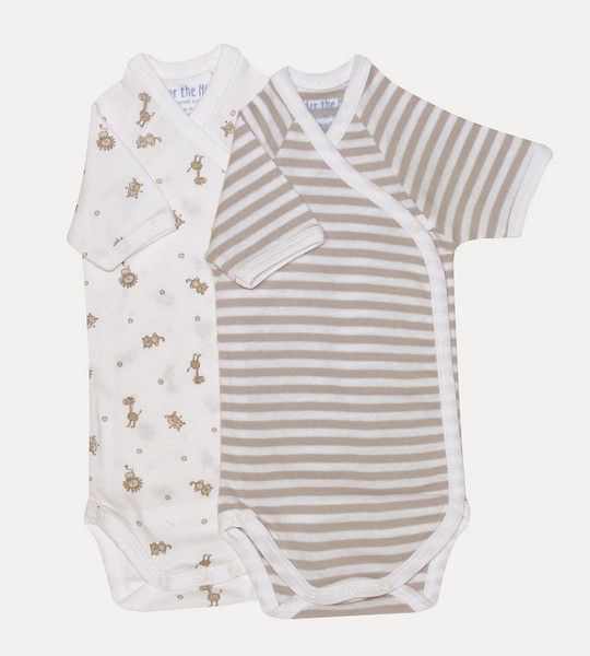 Under The Nile Side Snap Body Suit $26.95 www.organicbabe.com.au