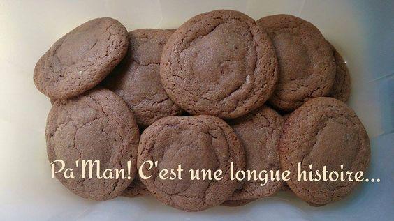 cookies surprise au chocolat