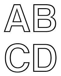 Resultado de imagem para letras