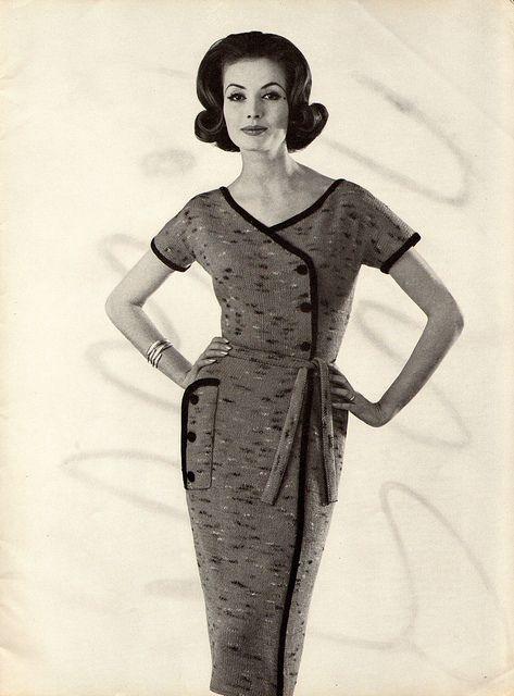 1961 Belted Dress