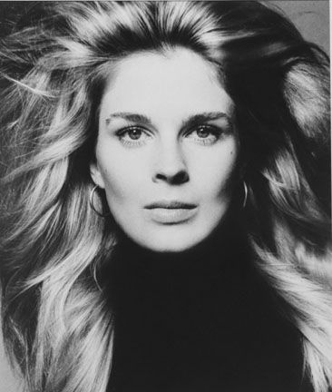 Candice Bergen in the Chicago photographic studio of Victor Skrebneski, March 1971.
