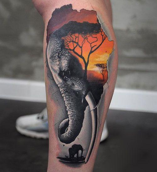 75 Best Elephant Tattoo Designs For Women 2020 Guide Realistic Elephant Tattoo Elephant Tattoo Design Cute Elephant Tattoo