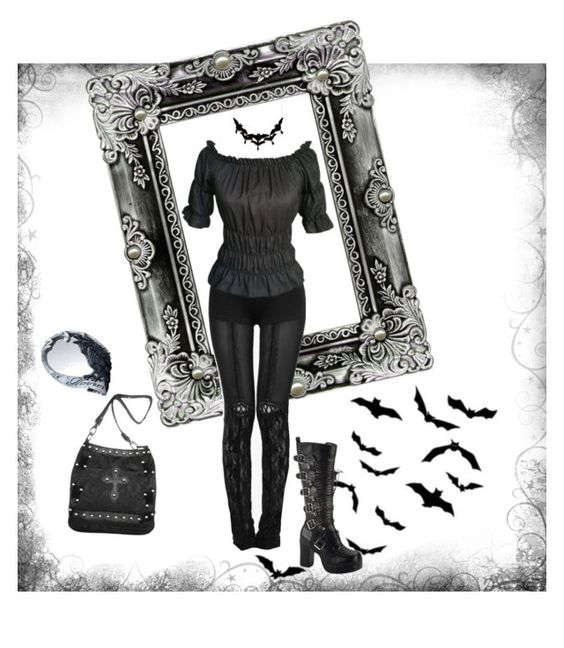 """Untitled #72"" by sinsilky on Polyvore featuring Demonia"