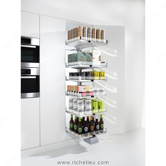 Hardware Pantry Cabinets And Pantry On Pinterest