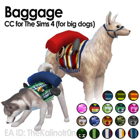 Kalino Haustiere Hunde Sims 4