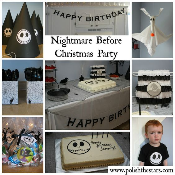 Nightmare Before Christmas Birthday Party Decorations: Pinterest • The World's Catalog Of Ideas