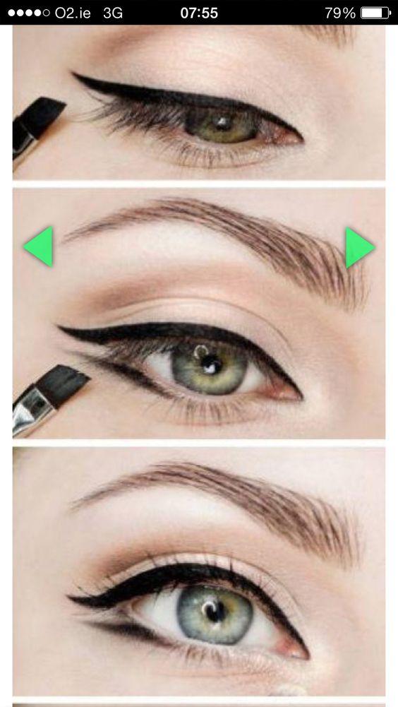 Marilyn Monroe Winged Eyeliner Tutorial.