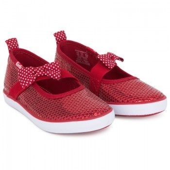 red sequin keds