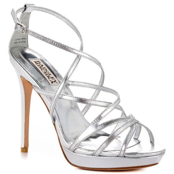 Adonis II - Silver Leather  Badgley Mischka $254.99