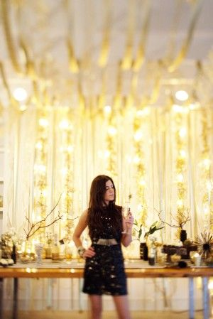 Sparkle party decor. cute