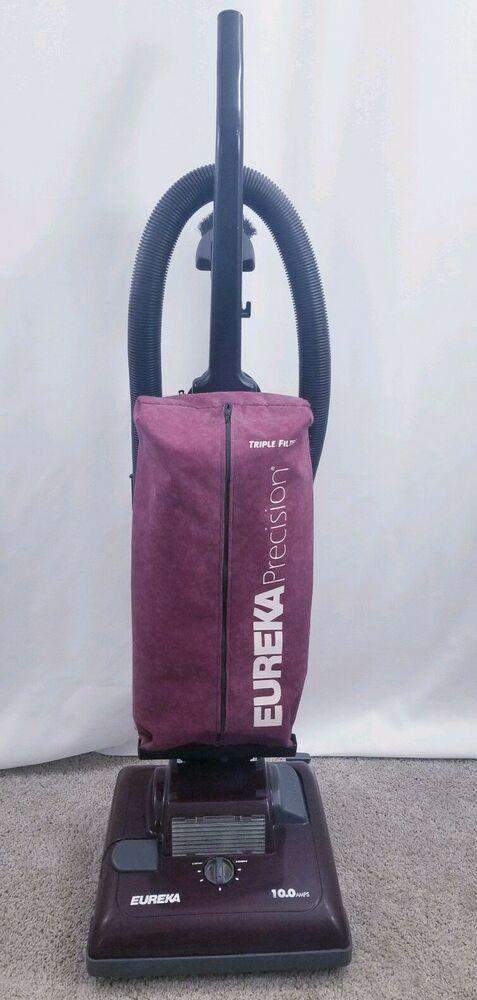 Eureka Precision Triple Filter Upright Vacuum Cleaner 7612 Type B Eureka Upright Vacuums Vacuum Cleaner Vacuums