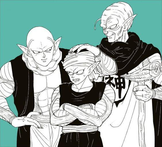 大魔王とピッコロとちびピッコロ