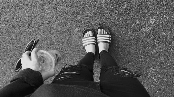 These are my chanclas