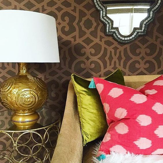 Fearless pattern play by the one and only @haneens_haven! #MakeHomeYours