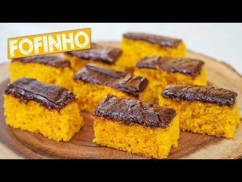 Bolo De Cenoura Com Chocolate Bem Fofinho Nandu Andrade