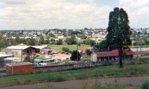 View of Bundamba 1980's
