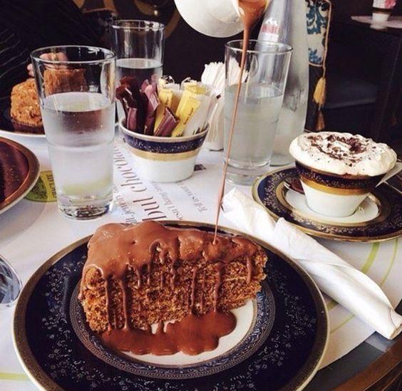Coffe & Cake #food #coffe #cake #delicatesse