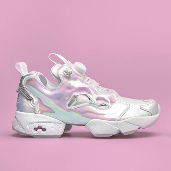 Reebok Instapump Furys fit for a princess. Check out the Cinderella  inspired release on SneakerNews