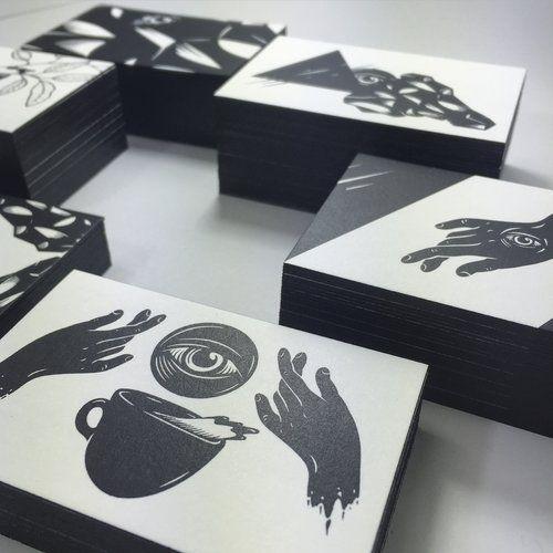 Screen Printed Business Cards Dot Studio London In 2020 Screen Printing Business Design Illustration Business Cards Printing Business Cards