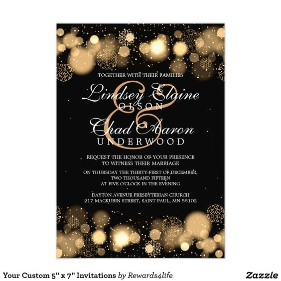 new years eve wedding invitations the world s catalog of ideas 6154