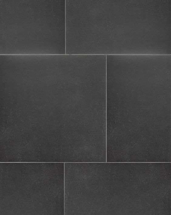 Unistone black floor tiles a classic natural stone effect for Classic kitchen floor tile