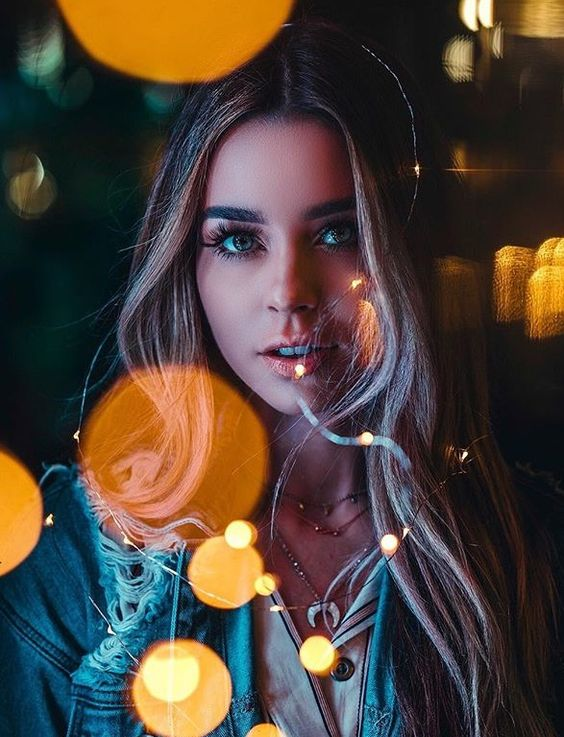 Fancy fair day | Creative photography | How to use fairy lights in photography | Brandon Woelfel Edit