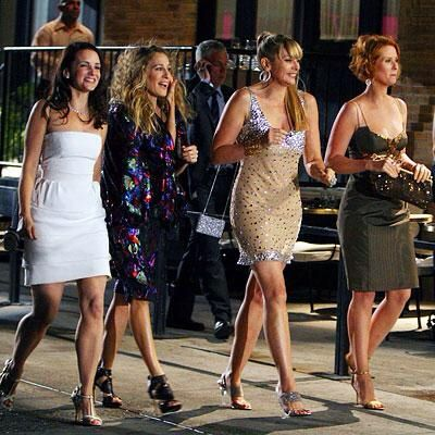 Sex and the City - Charlotte York, Carrie Bradshaw, Samantha Jones, Miranda Hobbs: