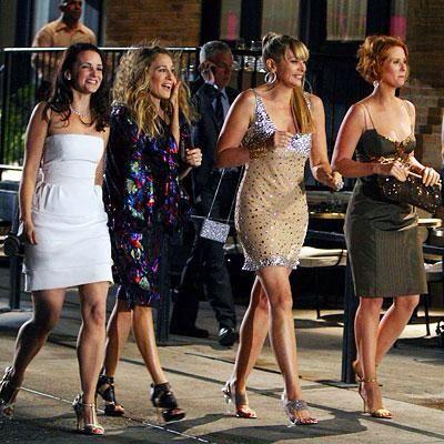 Sex and the City - Charlotte York, Carrie Bradshaw, Samantha Jones, Miranda Hobbs: