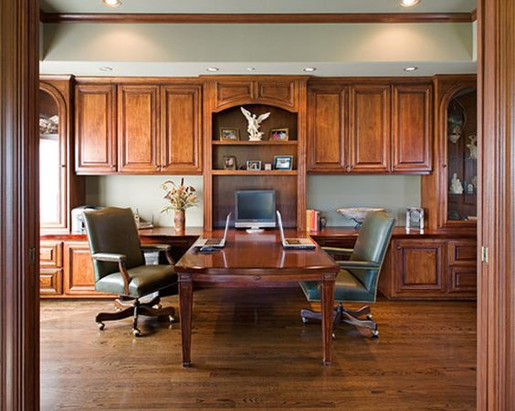 home office design built in mini fridge and snack cabinet make it feel homey built home office designs
