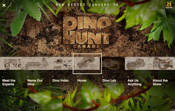 FWA winner | Dino Hunt Canada Interactive